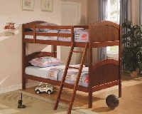 Troy twin bunk bed