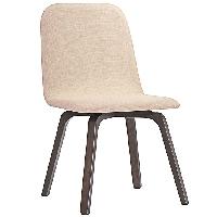Assert dining side chair in beige