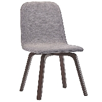 Assert dining side chair in gray