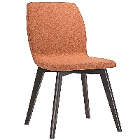Proclaim dining side chair in orange
