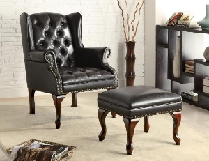 Brad chair and ottoman
