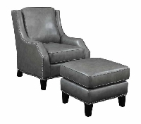 Robert chair and ottoman