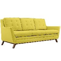Beguile fabric sofa in sunny