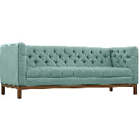 Panache fabric sofa in laguna