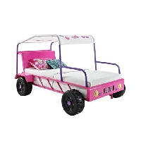 Girls Buggy Car Twin Bed