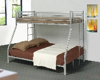 Denley twin/full bunk bed