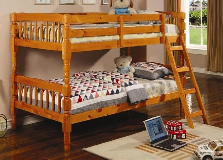 Teddy twin size bunk bed