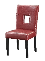 Dining chair #103612RED