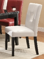 Dining chair #103612WHT