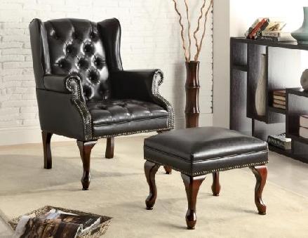 Brad chair and ottoman